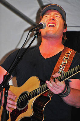 Photograph - Judge Jerrod Niemann by Mike Martin