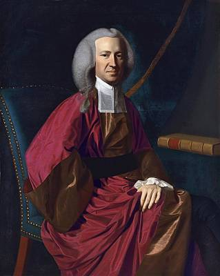 Justice Painting - Judge Martin Howard by John Singleton Copley