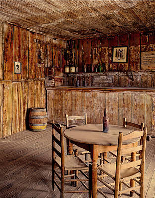 Photograph - Judge Roy Bean's Saloon by Library Of Congress