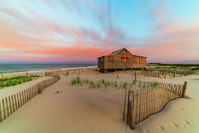 Judges Shack Nj Shore Art Print by Susan Candelario