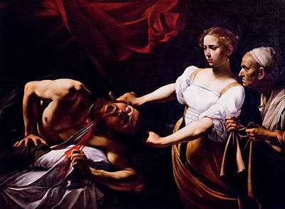 Photograph - Judith Beheading Holofernes - Caravaggio by Weston Westmoreland