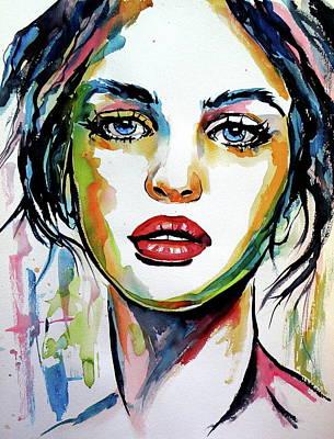 Painting - Judith by Kovacs Anna Brigitta