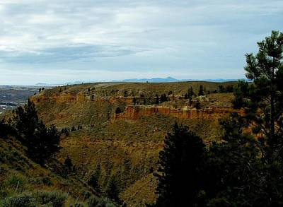 Photograph - Judith River Cliffs by Tracey Vivar