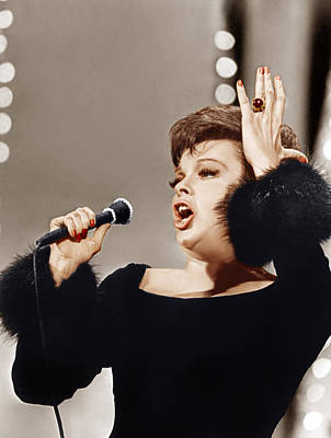Cocktail Ring Photograph - Judy Garland, Ca. 1960s by Everett
