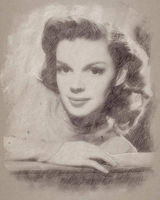 Judy Garland Art Print by Esoterica Art Agency