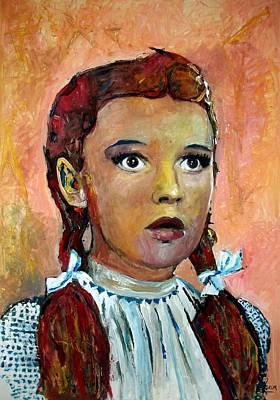 Judy Garland Painting - Judy Garland - Oz by Marcelo Neira