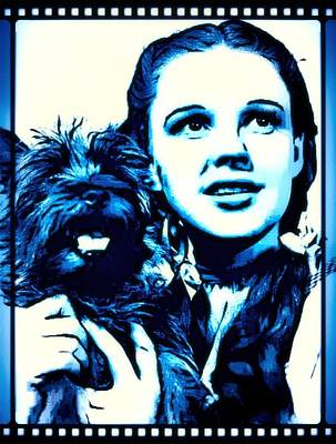 Singer Digital Art - Judy Garland Wizard Of Oz Dorothy by John Springfield