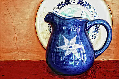 Jug Print by Charuhas Images