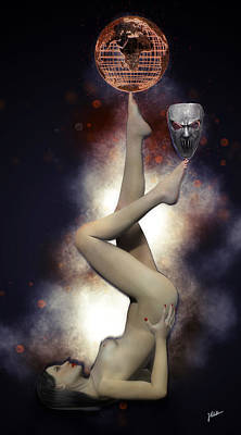Digital Art - Juggler Of The Soul by Joaquin Abella Ojeda