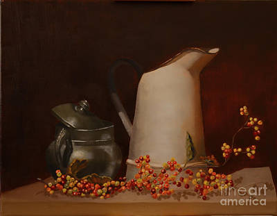 Painting - Jugs by Genevieve Brown
