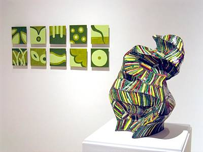 Sculpture - Juice -left  And June -right by Jason Messinger