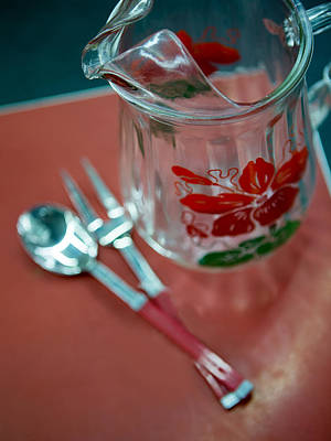 Photograph - Juice Pitcher by Rebecca Cozart