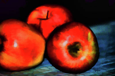 Photograph - Juicy Apple Art by Lesa Fine