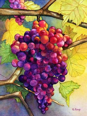 Painting - Juicy by Carolyn Koup