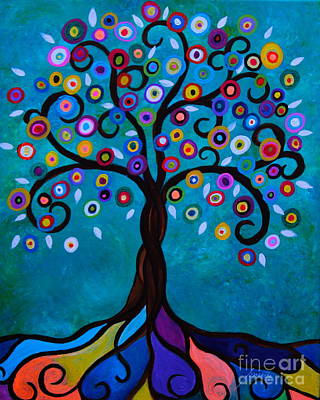 Painting - Juju's Tree by Pristine Cartera Turkus