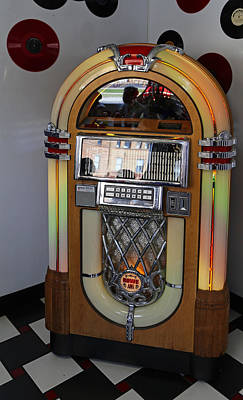 Photograph - Juke Box 1 by Mary Bedy