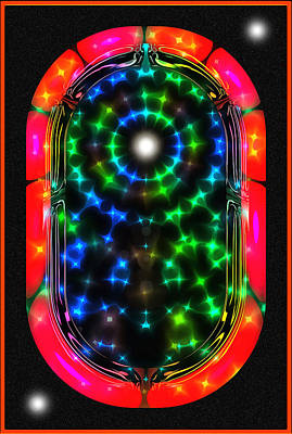 Digital Art - Jukebox To The Stars by Mario Carini