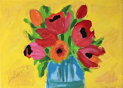 Easterseals Painting - Julene's Bouquet by Julene K