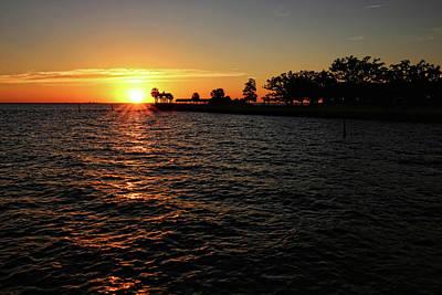 Photograph - Julep Point Sunset by Judy Vincent