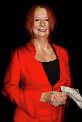 Photograph - Julia Eileen Gillard by Miroslava Jurcik
