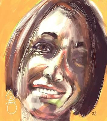 Painting - Julia by Jim Vance
