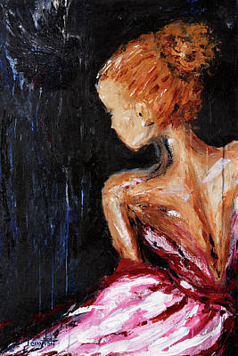 Dear Prudence Painting - Julia by Linda Clayton