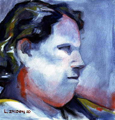 Oil Portrait Drawing - Julia by Lorraine Zaloom
