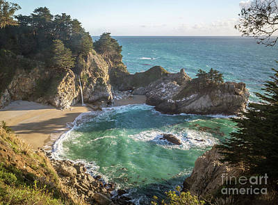 Photograph - Julia Pfeiffer Burns State Park, Big Sur  8b5344 by Stephen Parker