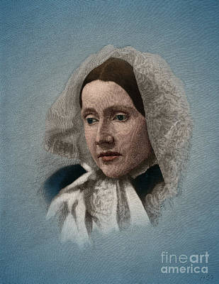 Julia Ward Howe, American Abolitionist Art Print by Science Source