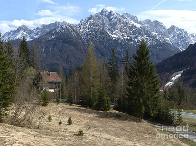 Photograph - Julian Alps - Slovenia by Phil Banks