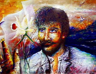 El Amor Painting - Julian Del Casal by Ruben Santos