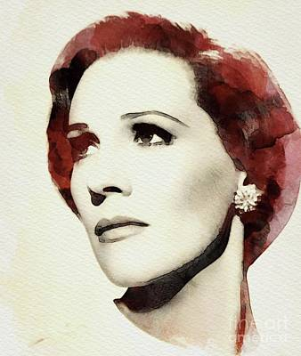 Musician Royalty-Free and Rights-Managed Images - Julie Andrews, Actress by John Springfield
