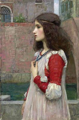 Painting - Juliet by John William Waterhouse