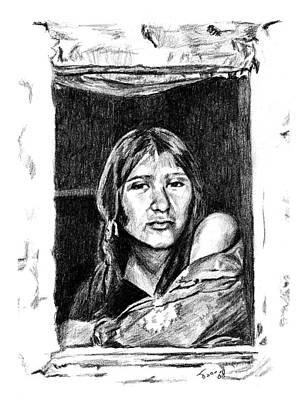 Drawing - Juliet by Toon De Zwart