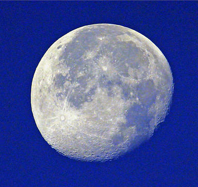 Photograph - D6b6303-july 4th Moon 2015  by Ed  Cooper Photography
