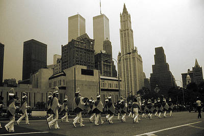 Architecture Photograph - Old New York Photo - July 4th Parade And Skyline by Art America Gallery Peter Potter