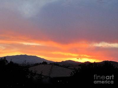 Photograph - July First  Sunset by Phyllis Kaltenbach
