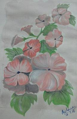 Painting - July Flowers  by Archana Saxena