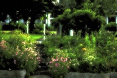 July Garden Art Print
