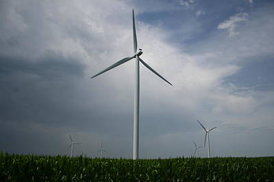 Photograph - July Turbines H by Dylan Punke