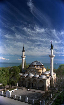 Photograph - Juma Jami Mosque Built In 1552 1564 By The Chief Ottoman Architect Mimar Sinan Yevpatoria Crimea by Eugenmakh
