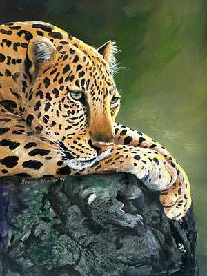 Art Print featuring the painting Jumanji by Sherry Shipley