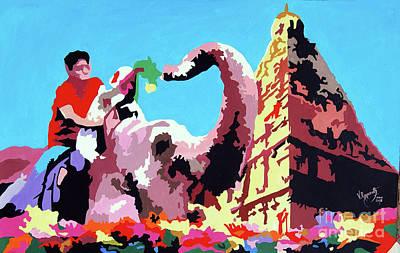 Painting - Jumbo Jurney by Ragunath Venkatraman