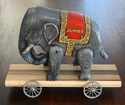 James Neill Sculpture - Jumbo The Elephant by James Neill