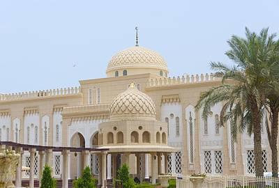 Jumeirah Mosque, Dubai Art Print by Art Spectrum