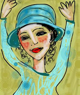 Jump For Joy Art Print by Elaine Lanoue