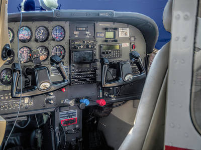 Cessna Photograph -  Jump In And Go Cessna 182 by John Straton
