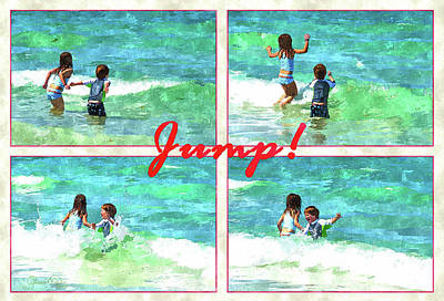 Photograph - Jump by Susan Molnar