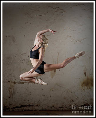 Photograph - Jumping Ballerina by Michael Edwards