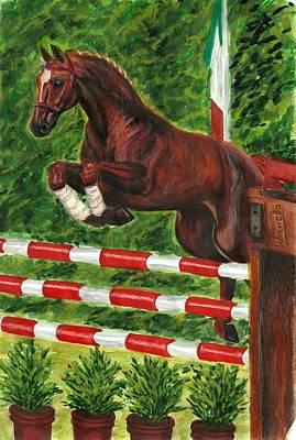 Jumping Horse Original